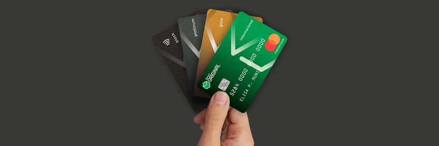 Cartão sem anuidade Banco Original