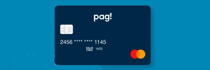 Cartão sem anuidade Pag!