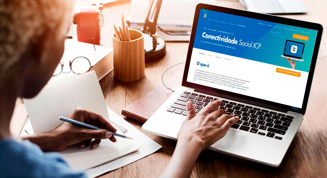 O que é conectividade social e como ter acesso?