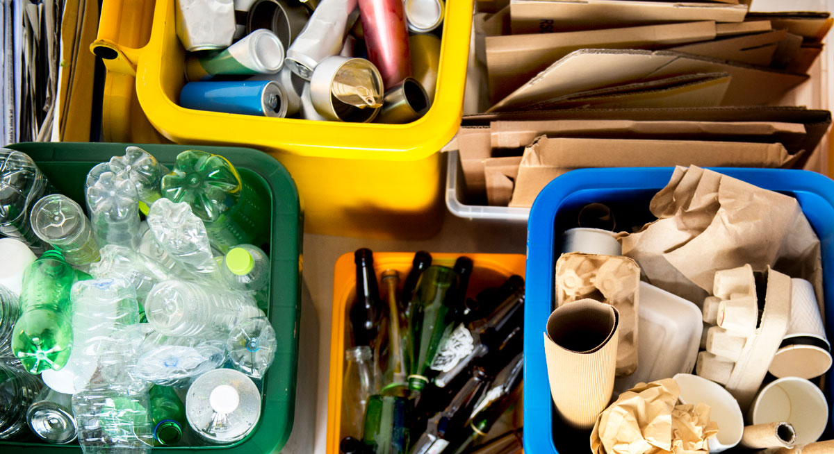 Quais são os materiais recicláveis e não recicláveis?