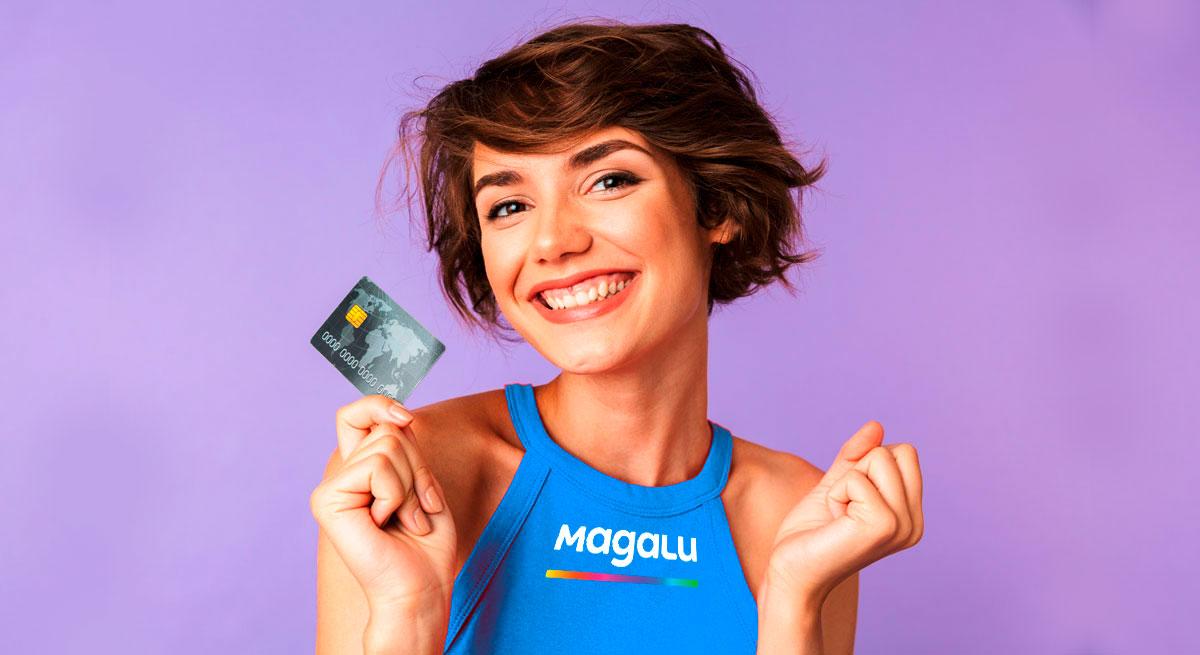 Como solicitar um cartão de crédito Magazine Luiza