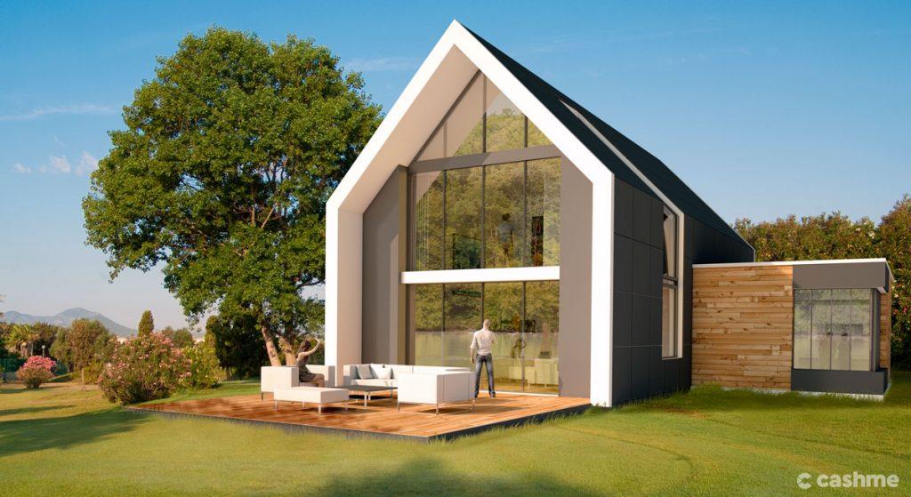 Casa sustentável exemplo