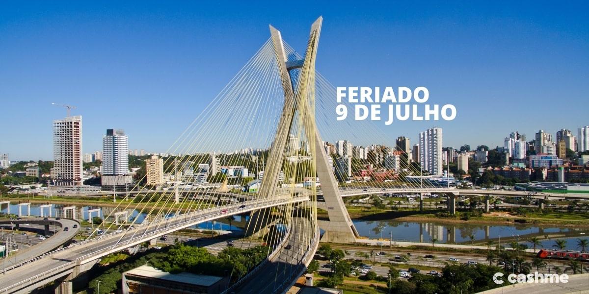 Feriado 9 de julho: saiba porquê é comemorado em São Paulo