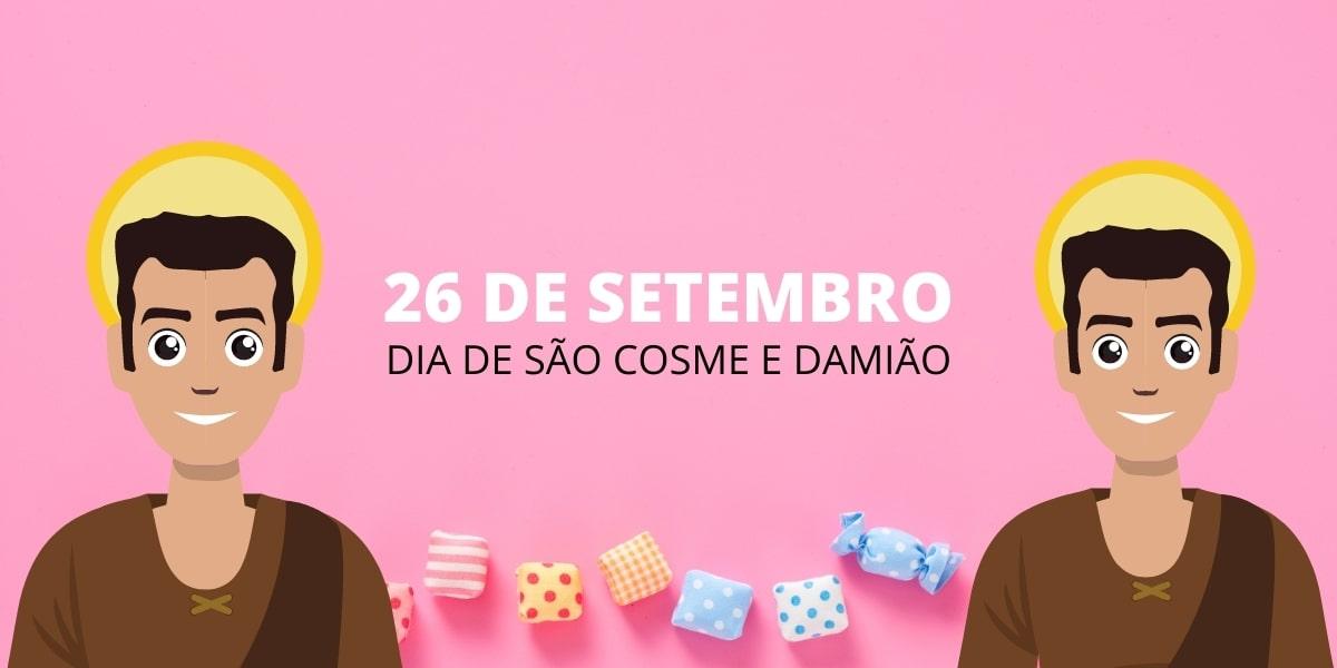 Dia de Cosme e Damião: descubra por que ganhamos doces neste dia